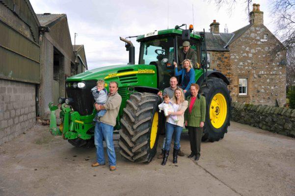 Fenton Family at Newlands Farm